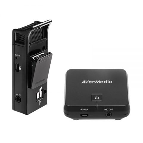 Parrot AverMedia AW313 Wireless Microphone & Receiver