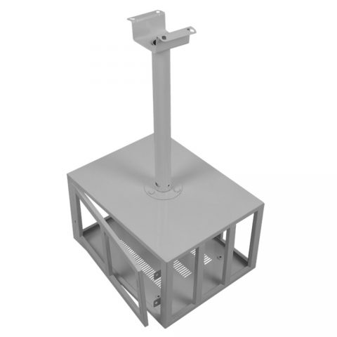 Parrot Data Projector Ceiling Mounting Bracket (Lockable Security Cage, 450x220x340mm)